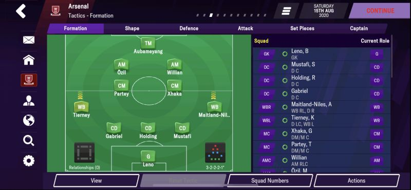 football manager 2021 mobile tactics