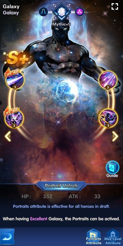 galaxy x-hero idle avengers