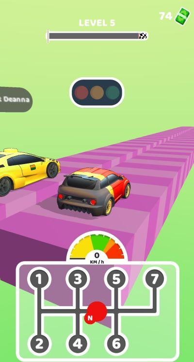 gear race 3d meter