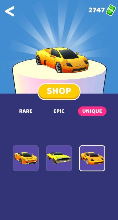 gear race 3d shop