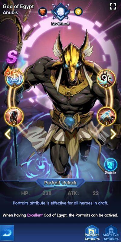 god of egypt anubis x-hero idle avengers