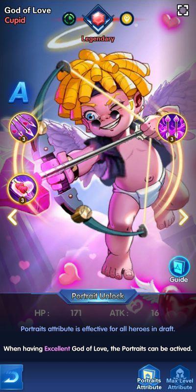 god of love cupid x-hero idle avengers