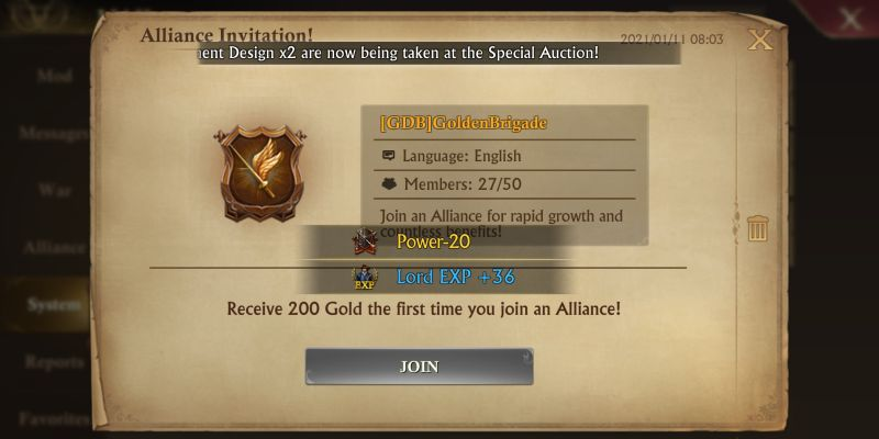 guns of glory alliance