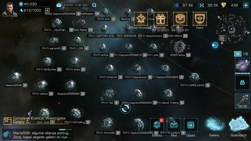 infinite galaxy alliances