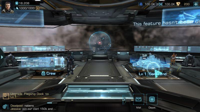 infinite galaxy spaceport