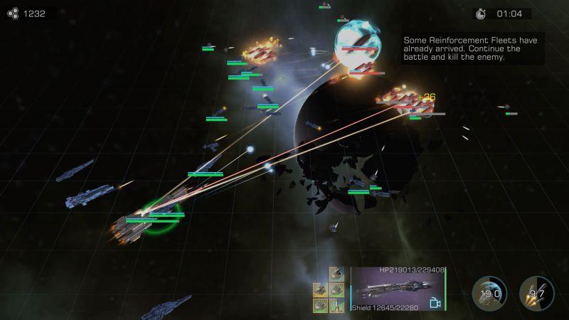 infinite galaxy tutorial battle