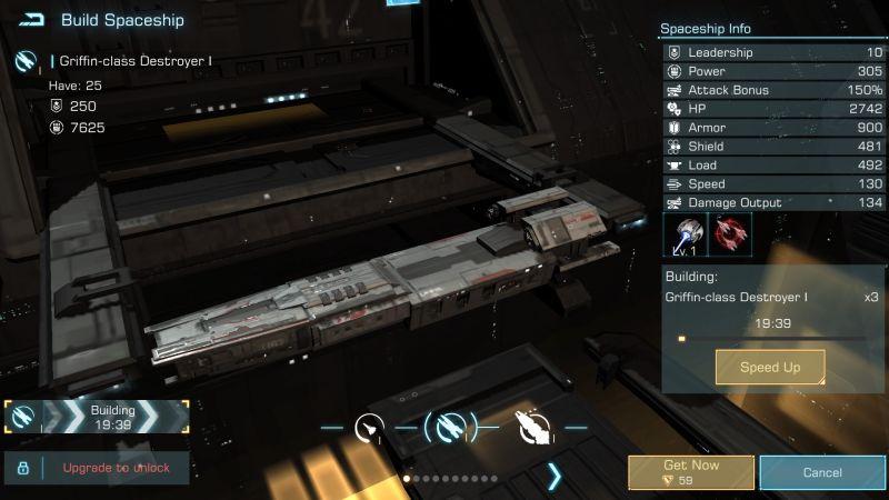 infinite galaxy warship dock