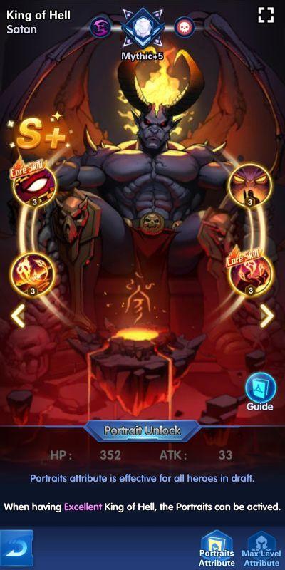 king of hell x-hero idle avengers