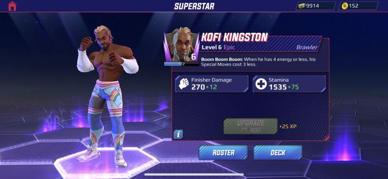 kofi kingston wwe undefeated