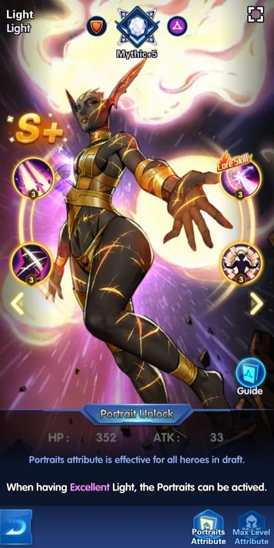 light x-hero idle avengers