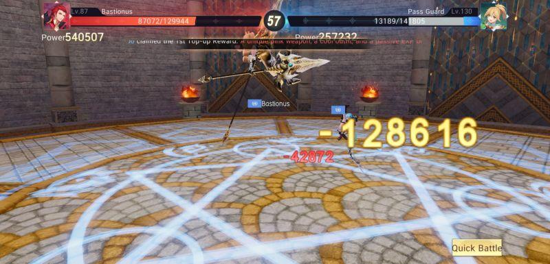 arena fight master topia