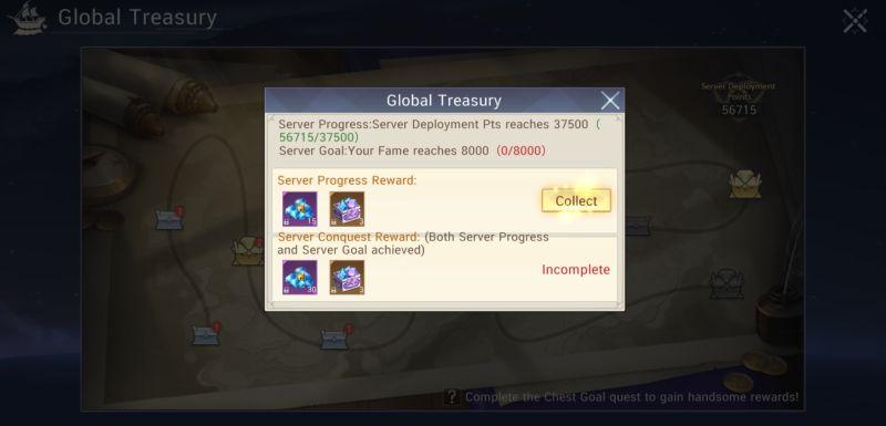 server rewards master topia