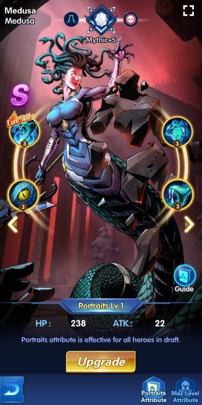 medusa x hero idle avengers