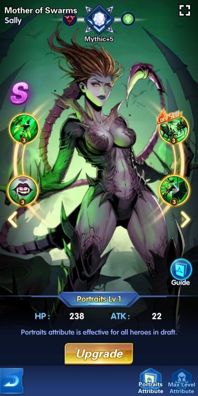 mother of swarms sally x hero idle avengers