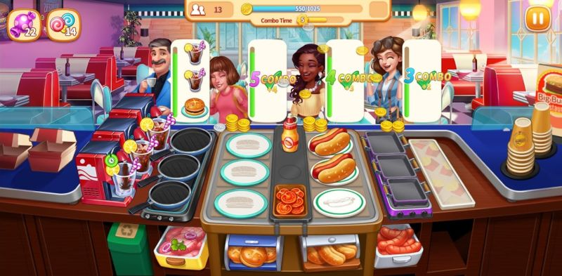 making combos my restaurant