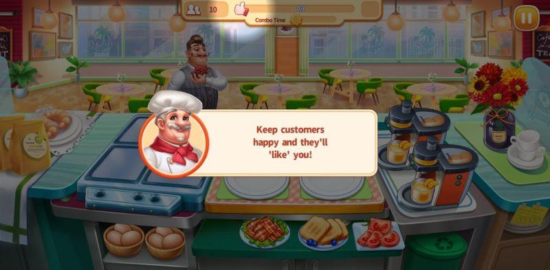 keeping customers happy my restaurant