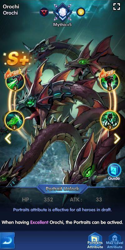 orochi x-hero idle avengers