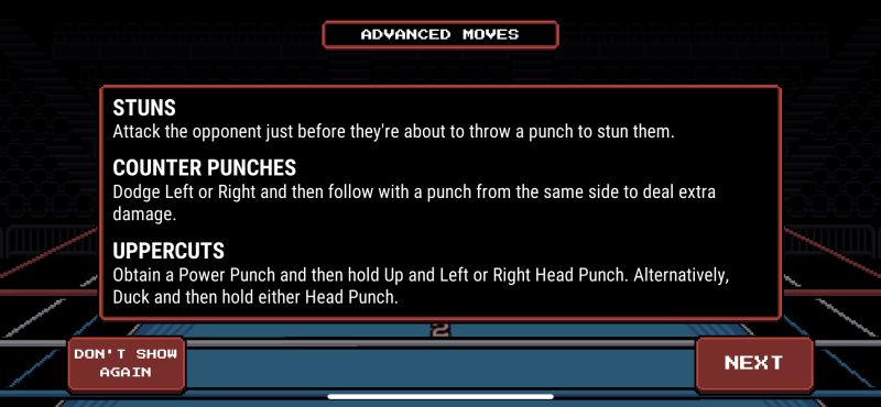 prizefighters 2 advanced moves