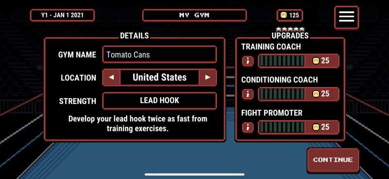 prizefighters 2 gym