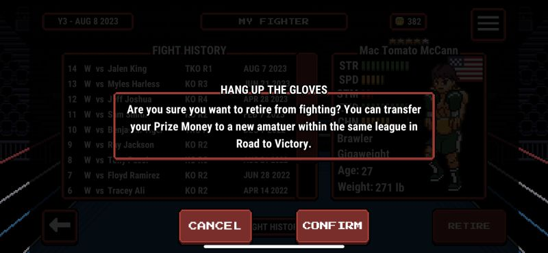 prizefighters 2 hanging up the gloves