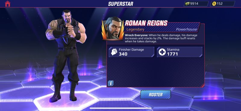 roman reigns wwe undefeated
