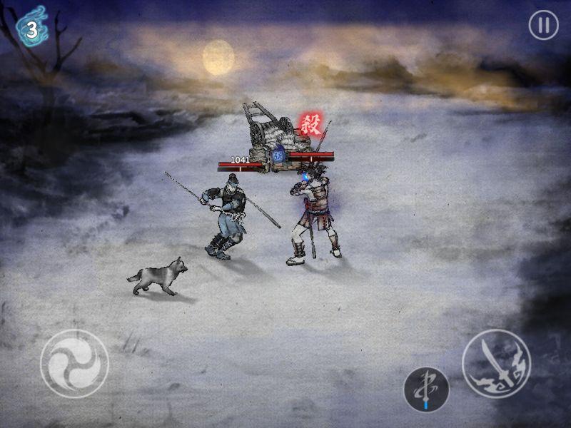 ronin the last samurai heavy attack