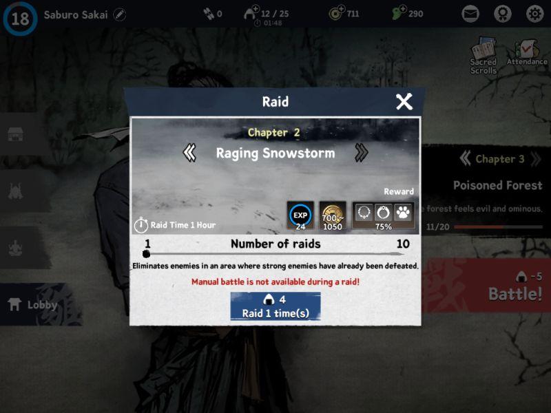 ronin the last samurai raid