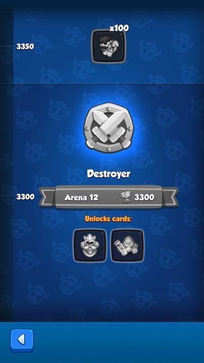 rush royale destroyer rank