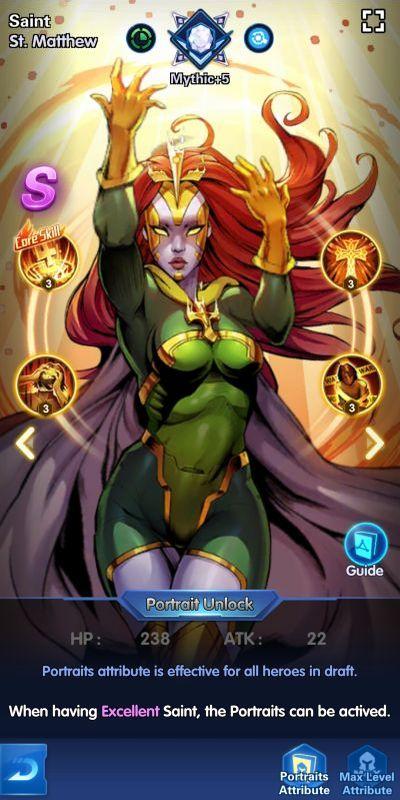 saint st matthew x-hero idle avengers