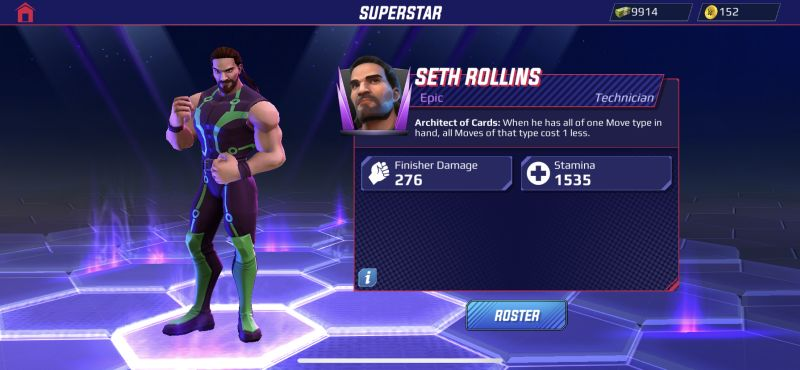 seth rollins wwe undefeated
