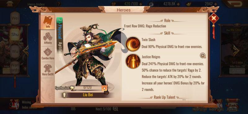 shu liu bei dynasty scrolls