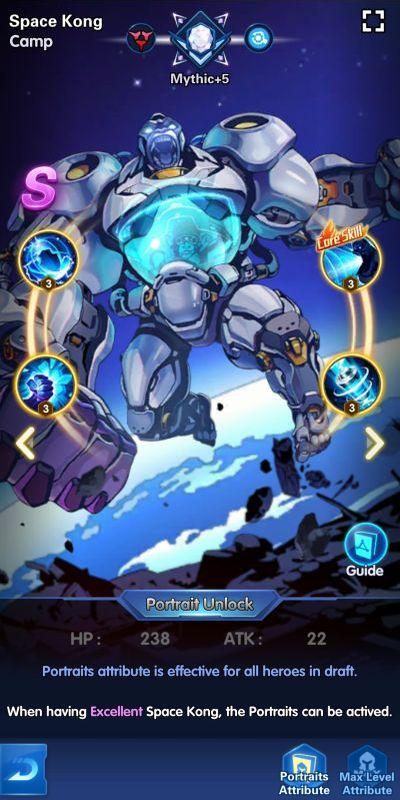 space kong camp x-hero idle avengers