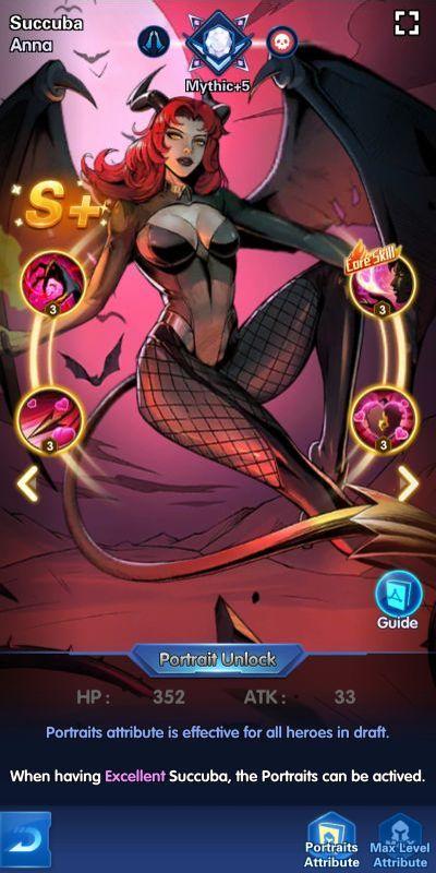 succuba anna x-hero idle avengers