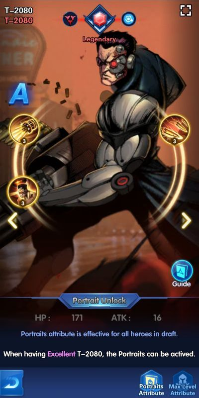 t-2080 x-hero idle avengers