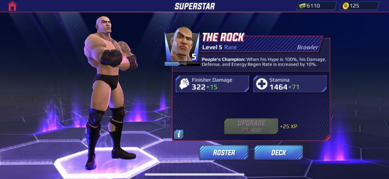the rock wwe undefeated
