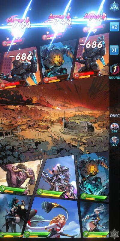 armor x-hero idle avengers