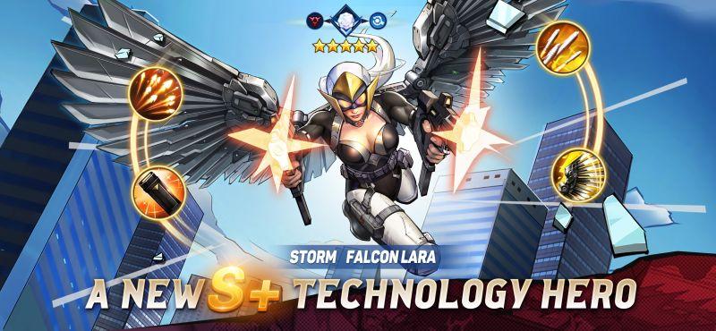 x-hero idle avengers best heroes