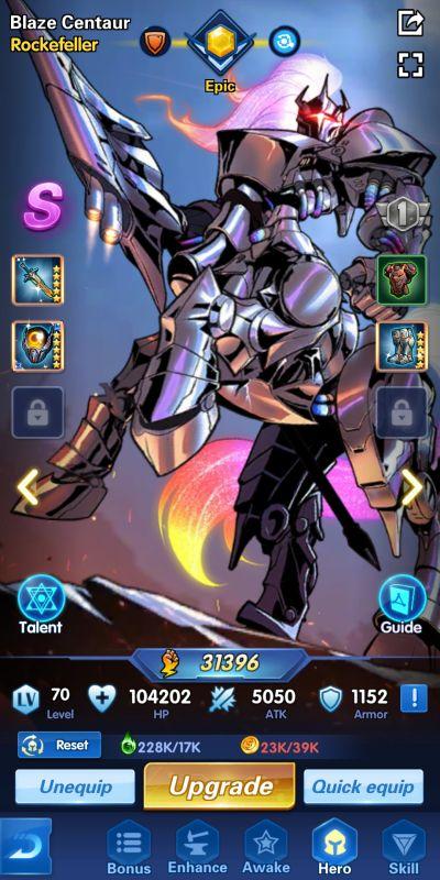 enhancing a hero x-hero idle avengers