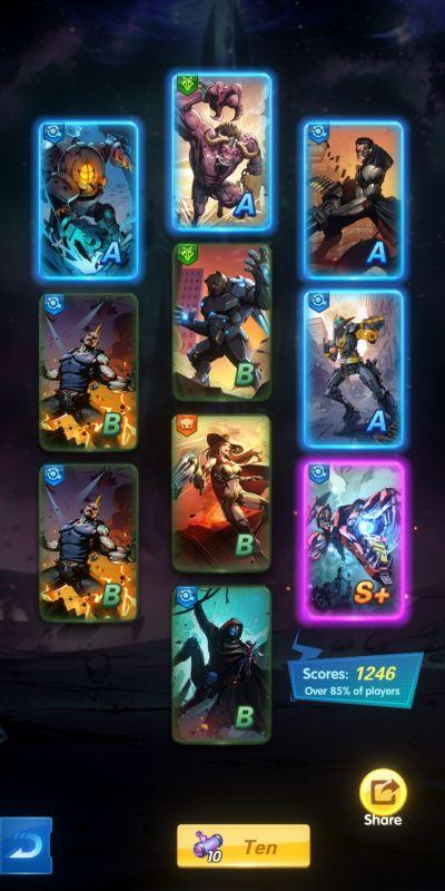 heroes x-hero idle avengers