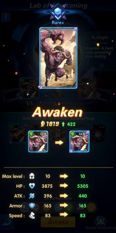 lab of awakening x-hero idle avengers
