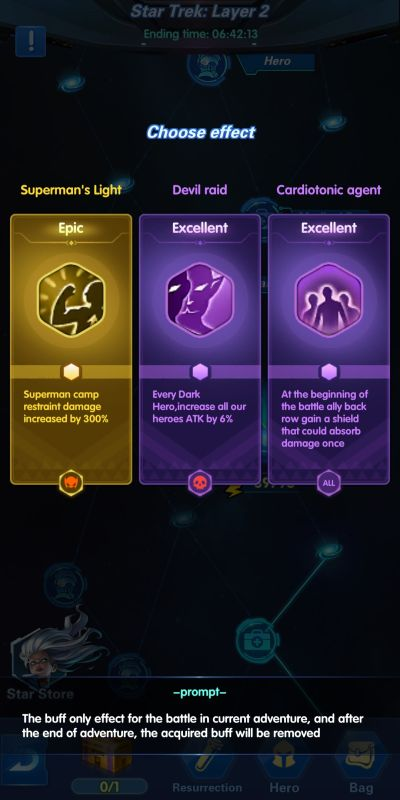star trek x-hero idle avengers