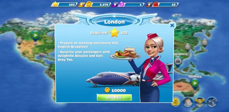 airplane chefs london flight