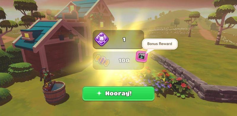big farm home & garden bonus reward