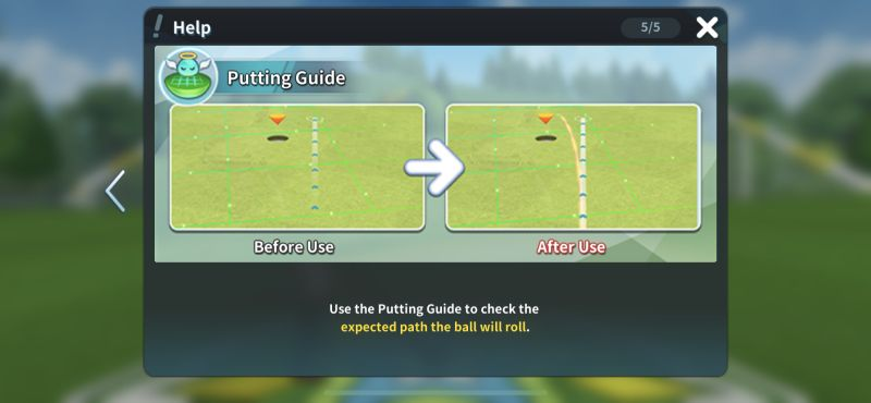 putting guide birdie crush fantasy golf