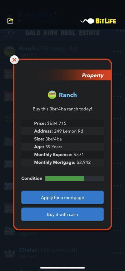bitlife ranch