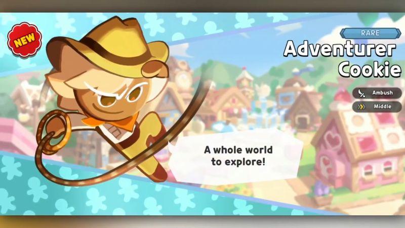 adventurer cookie cookie run kingdom