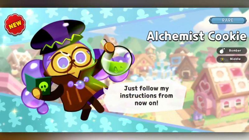 alchemist cookie cookie run kingdom