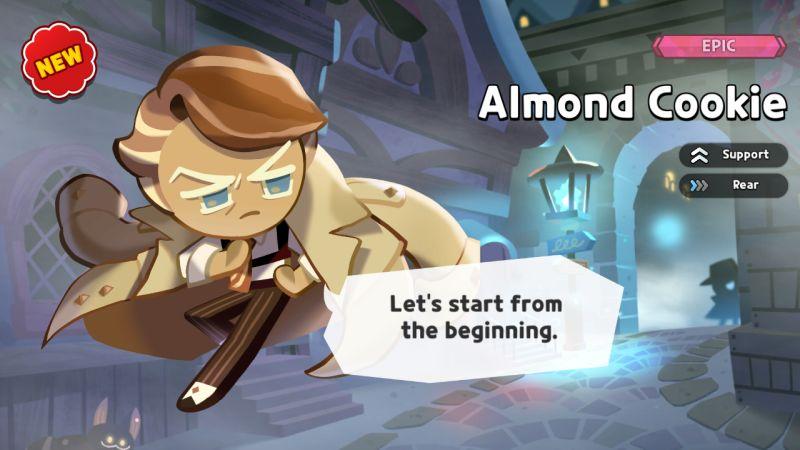 almond cookie cookie run kingdom