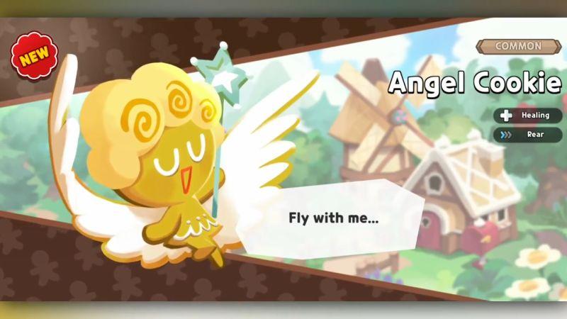 angel cookie cookie run kingdom