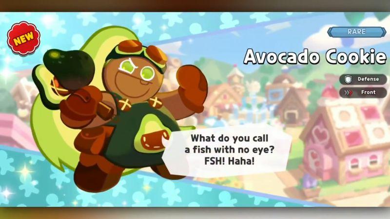 avocado cookie cookie run kingdom